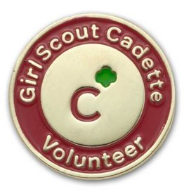 GIRL SCOUTS OF THE USA GS Cadette Volunteer Pin