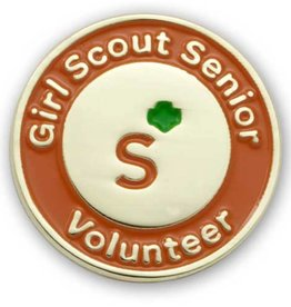 GIRL SCOUTS OF THE USA GS Senior Volunteer Pin