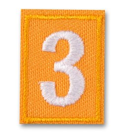 GIRL SCOUTS OF THE USA Daisy Uniform Troop Numerals