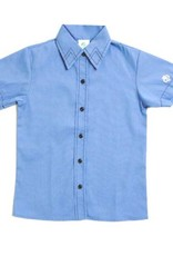 GIRL SCOUTS OF THE USA Brownie S/S Shirt - Blue