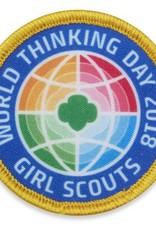 GIRL SCOUTS OF THE USA 2018 World Thinking Day Patch