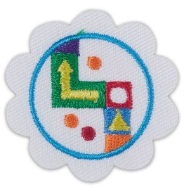 GIRL SCOUTS OF THE USA Daisy Game Design Badge