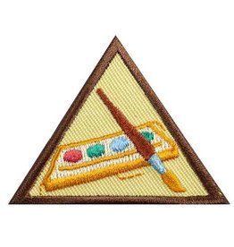 GIRL SCOUTS OF THE USA Brownie Painting Badge