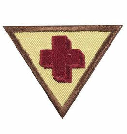 GIRL SCOUTS OF THE USA Brownie First Aid Badge