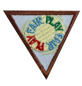 GIRL SCOUTS OF THE USA Brownie Fair Play Badge