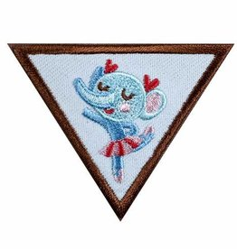 GIRL SCOUTS OF THE USA Brownie Dancer Badge