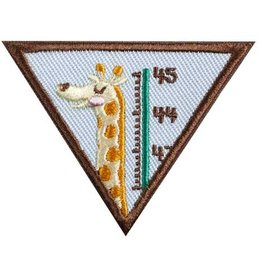 GIRL SCOUTS OF THE USA Brownie My Best Self Badge