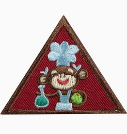 GIRL SCOUTS OF THE USA Brownie Home Scientist Badge