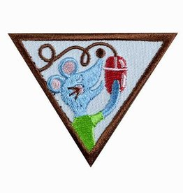 GIRL SCOUTS OF THE USA Brownie Computer Expert Badge