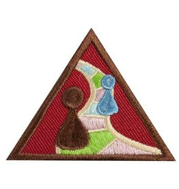 GIRL SCOUTS OF THE USA Brownie Making Games Badge