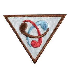 GIRL SCOUTS OF THE USA Brownie Inventor Badge