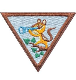 GIRL SCOUTS OF THE USA Brownie Outdoor Adventurer Badge