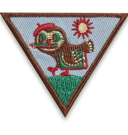 GIRL SCOUTS OF THE USA Brownie Outdoor Art Creator Badge