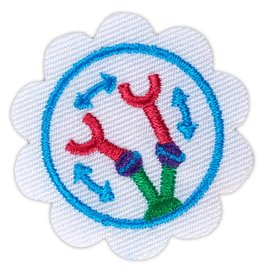 GIRL SCOUTS OF THE USA Daisy Design a Robot Badge