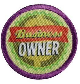 GIRL SCOUTS OF THE USA Junior Business Owner Badge