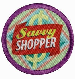 GIRL SCOUTS OF THE USA Junior Savvy Shopper Badge