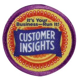 GIRL SCOUTS OF THE USA Junior Customer Insights Badge