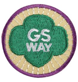 GIRL SCOUTS OF THE USA Junior Girl Scout Way Badge