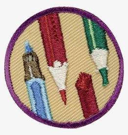 GIRL SCOUTS OF THE USA Junior Drawing Badge