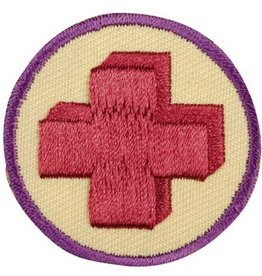 GIRL SCOUTS OF THE USA Junior First Aid Badge