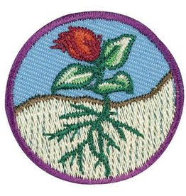 GIRL SCOUTS OF THE USA Junior Flowers Badge