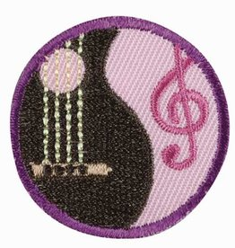 GIRL SCOUTS OF THE USA Junior Musician Badge