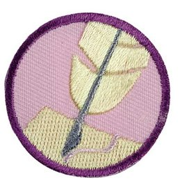 GIRL SCOUTS OF THE USA Junior Scribe Badge