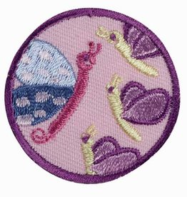 GIRL SCOUTS OF THE USA Junior Social Butterfly Badge