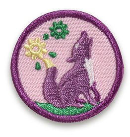 GIRL SCOUTS OF THE USA Junior Outdoor Art Explorer Badge