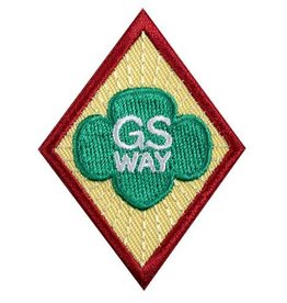 GIRL SCOUTS OF THE USA Cadette Girl Scout Way Badge
