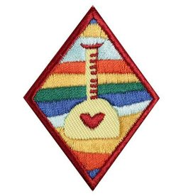 GIRL SCOUTS OF THE USA Cadette Science of Happiness Badge