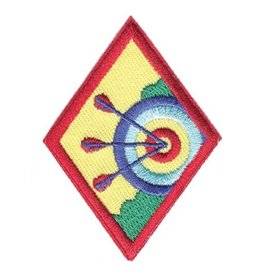 GIRL SCOUTS OF THE USA Cadette Archery Badge