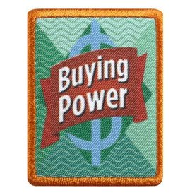 GIRL SCOUTS OF THE USA Senior Buying Power Badge