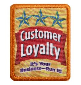 GIRL SCOUTS OF THE USA Senior Customer Loyalty Badge