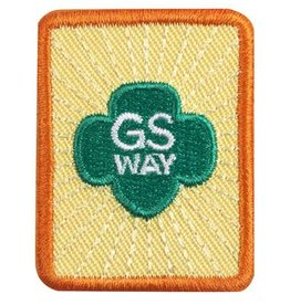 GIRL SCOUTS OF THE USA SR Girl Scout Way Badge