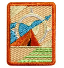 GIRL SCOUTS OF THE USA Senior Adventurer Badge