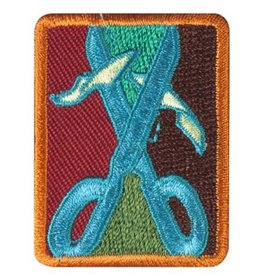 GIRL SCOUTS OF THE USA Senior Collage Artist Badge