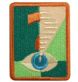 GIRL SCOUTS OF THE USA Senior Truth Seeker Badge