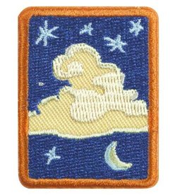 GIRL SCOUTS OF THE USA SR Sky Badge