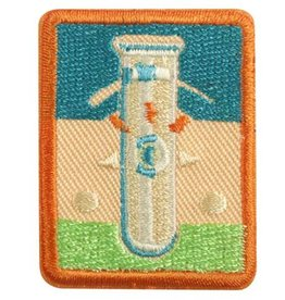 GIRL SCOUTS OF THE USA SR Science of Style Badge