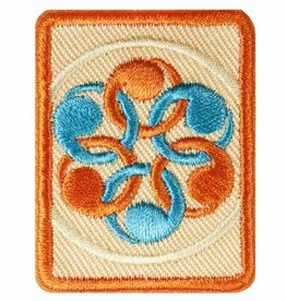 GIRL SCOUTS OF THE USA Senior Social Innovator Badge