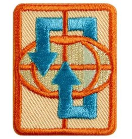 GIRL SCOUTS OF THE USA Senior Traveler Badge