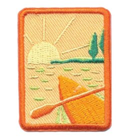 GIRL SCOUTS OF THE USA Senior Paddling Badge