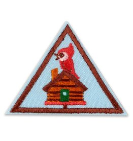 GIRL SCOUTS OF THE USA Brownie Cabin Camper Badge