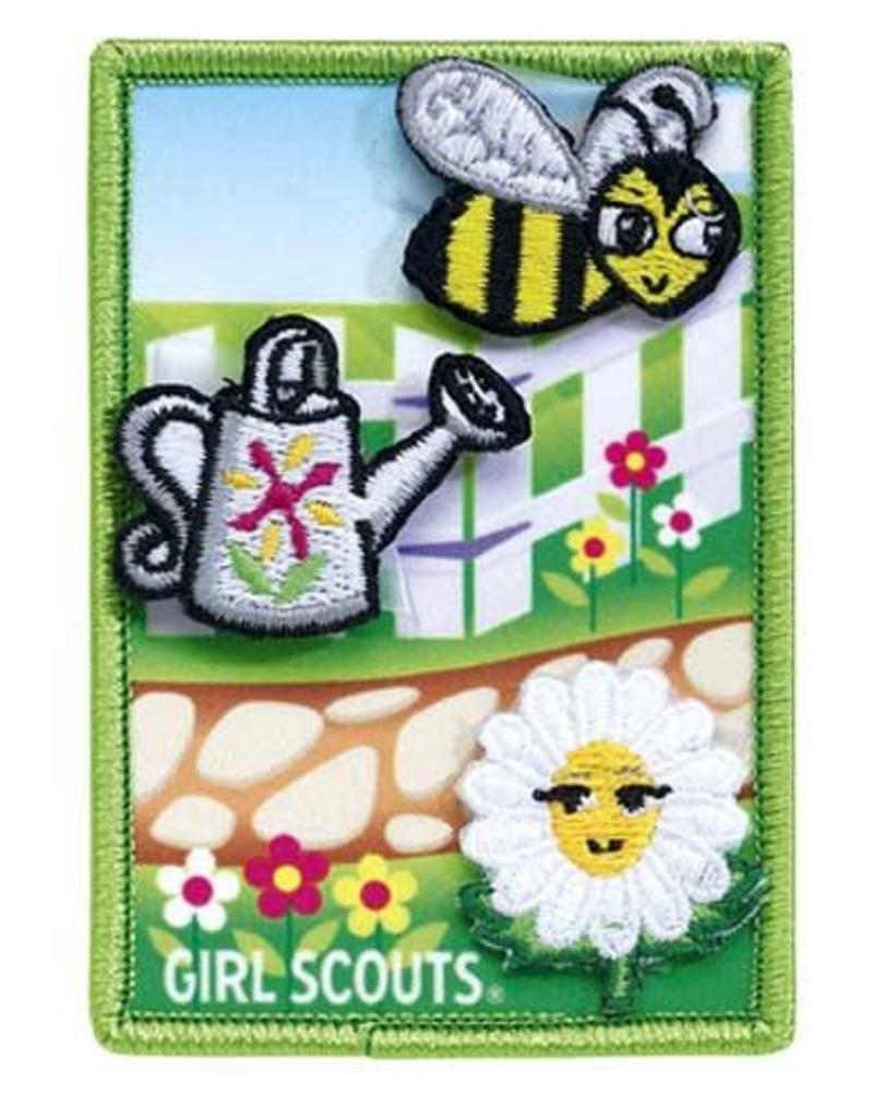 Girl scouts of the usa daisy flower garden award girl scouts of girl scouts of the usa daisy flower garden award izmirmasajfo