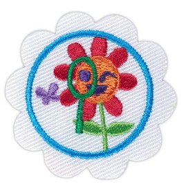 GIRL SCOUTS OF THE USA Daisy Outdoor STEM Journey Think Like a Scientist Award Badge