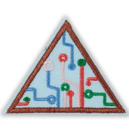 GIRL SCOUTS OF THE USA Brownie Computer Science Journey Think Like a Programmer Award Badge