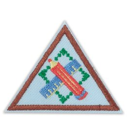 GIRL SCOUTS OF THE USA Brownie Engineering Journey Think Like an Engineer Award Badge