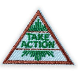 GIRL SCOUTS OF THE USA Brownie Take Action Award