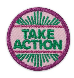 GIRL SCOUTS OF THE USA Junior Take Action Award Badge